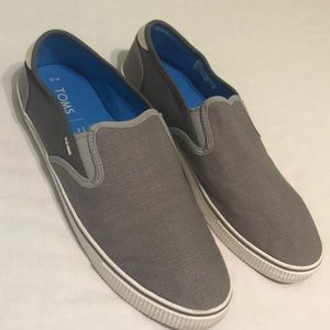 Men's Toms Grey Blue size 10
